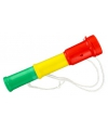 Toeter rood geel groen 20 cm