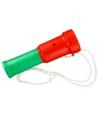 Toeter rood groen 15 cm