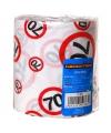 Toiletpapier voor een 70 jarige