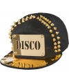 Toppers disco pet met gouden spikes