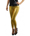 Toppers gouden pailletten legging voor dames