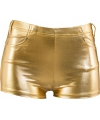 Toppers hotpants goud voor dames