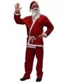 Toppers kerst kleding kerstman