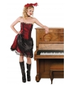 Toppers western kostuum saloongirl