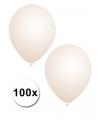 Transparante ballonnen 100 stuks