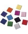 Transparante mozaiek steentjes mix