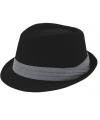 Trilby hoed zwart voor kinderen