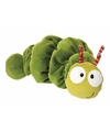 Trillende groene rups knuffel