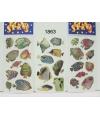 Tropische vis stickers