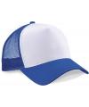 Truckers cap blauw wit voor volwassenen