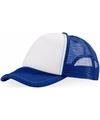 Truckers cap blauw wit