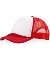 Truckers cap rood wit