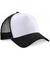 Truckers cap zwart wit voor volwassenen