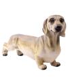 Tuinbeeld teckel hond 32 cm