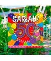 Tuinbord sarah 50 jaar