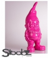 Tuinkabouter roze 30 cm