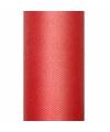 Tule stof rood 50 cm breed