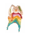 Tutteldoekje regenboog konijn