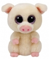 Ty beanie boo s piggley pluche roze varkentje knuffel 15 cm