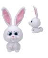 Ty beanie konijnen knuffel wit 25 cm