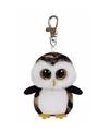 Uil ty beanie owliver 12 cm sleutelhanger