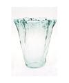 Uitlopende vaas glas 20 cm