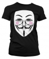 V for vendetta t shirt dames