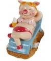 Vakantie varken spaarpot vrouw