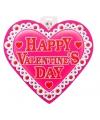 Valentijn decoratie hart 30 cm type 3