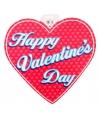 Valentijn decoratie hart 30 cm type 4
