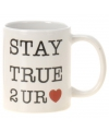 Valentijn koffie mok heart
