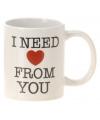 Valentijn koffie mok love