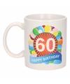 Verjaardag ballonnen mok beker 60 jaar