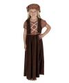 Victoriaans straatkindje kostuum voor meisjes