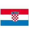 Vlag kroatie 90 x 150 cm