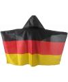 Vlag poncho zwart rood geel