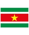 Vlag suriname stickers