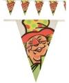 Vlaggenlijn clown