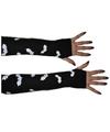 Vleermuis handschoenen zonder vingers