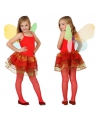 Vlinder kostuum voor kinderen rood