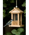 Vogel zaden voederhuisje
