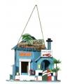 Vogelhuisje beach house 21 cm