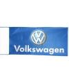 Volkswagen vlag blauw 150 x 75 cm