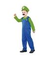 Voordelig groen loodgieters kostuum voor jongens