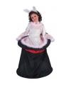 Voordelig konijn uit hoed kostuum voor meisjes