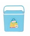 Voordelige blauwe koelbox 24 liter
