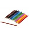 Voordelige kleurpotloden 24 stuks