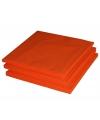 Voordelige oranje servetten 20 stuks