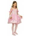 Voordelige roze prinsessenjurk voor meisjes