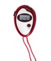 Voordelige sport stopwatch rood
